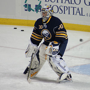 Ryan Miller - Miller with the Sabres in 2010.