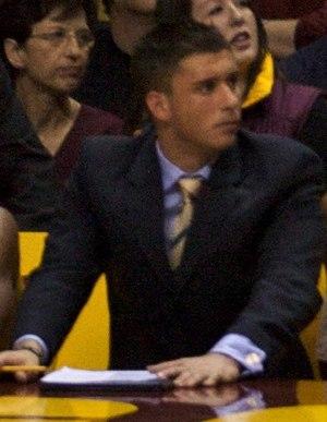 Ryan Saunders - Saunders in 2009 as University of Minnesota graduate manager.