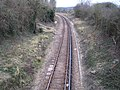 Ryde to Shanklin railway line near Brading - geograph.org.uk - 143536.jpg