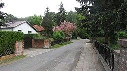 Grenzweg in Glienicke (Nordbahn)