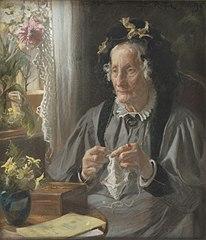 Portræt af konferensrådinde S.A. Casse f. Engelbreth