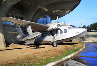 122nd Hydroplane Liaison Squadron - Short SA-6 Sealand Mk.I of Yugoslav Air Force which served in 122nd Hydroplane Liaison Squadron from 1951 to 1962, now at Belgrade Aviation Museum.