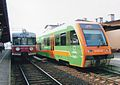SA106 012 and EN57 1451 (1.4.2007r.) Laskowice Pomorskie train station (2).jpg