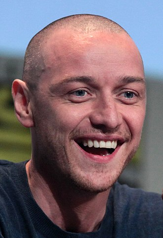James McAvoy - McAvoy at the 2015 San Diego Comic-Con