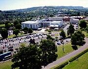 SGS Stroud Campus Aerial Photo