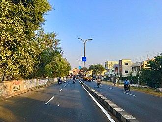 Vizianagaram - SH-26 towards Visakhapatnam in Vizianagaram