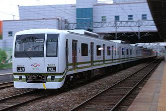 Seoul Subway Line 7 - Image: SMRT EMU SR002