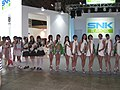 SNK Playmore promotional models at Tokyo Game Show 20070921 1.jpg