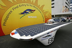 is the first Philippine Solar-Powered Race Car...