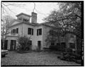 SOUTHWEST AND SOUTHEAST SIDES - Mills-Stebbins House, 3 Crescent Hill, Springfield, Hampden County, MA HABS MASS,7-SPRIF,5-7.tif