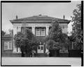 SOUTH FRONT OF MAIN BLOCK - Plains School, Bond Street (opposite Paschal Street), Plains, Sumter County, GA HABS GA,131-PLAIN,18-3.tif