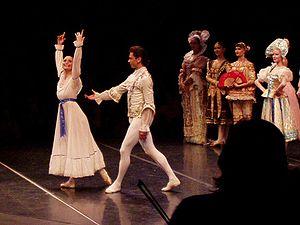 St Petersburg Ballet Theatre - Anna Podlesnaya as Clara and Andrei Stelmakhov as Nutcracker Prince in a St. Petersburg Ballet Theatre 2007 production of The Nutcracker.