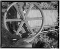 ST. GERMAIN DITCH HEADGATE HANDWHEEL. - St. Germain Ditch, North side of Rapid Creek, Rapid City, Pennington County, SD HAER SD,52-RACI.V,9-2.tif