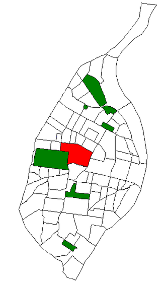 Central West End, St. Louis - Image: STL Neighborhood Map 38
