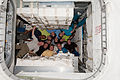 STS-133 ISS-26 crews in the newly-attached PMM.jpg