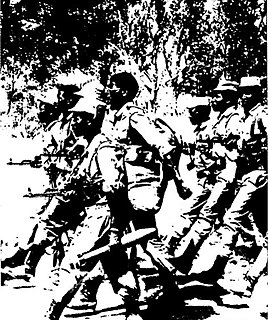 military arm of Namibian liberation movement