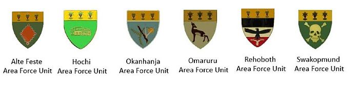 SWATF Sector 40 Area Force Units emblems