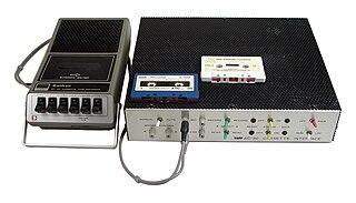 Kansas City standard digital data format for audio cassette drives