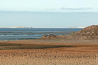 Western Sahara - Dakhla Bay, near Dakhla.