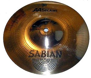 "Splash cymbal - Sabian 10"" AA Splash"