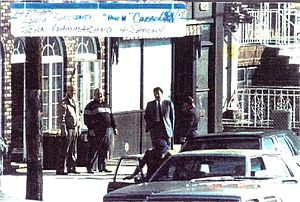 Sammy Gravano - FBI surveillance photograph of Gravano, Louis Saccenti, Thomas Carbonaro and John Gammerano