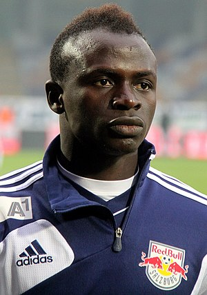 Sadio Mané - Mané lining up for Red Bull Salzburg in 2013