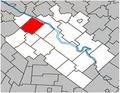 Saint-Bonaventure Quebec location diagram.PNG