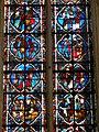 Saint-Germer-de-Fly (60), Sainte-chapelle, vitrail n° 2, les 4 registres médians.jpg