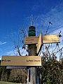 Saint-Just-d'Avray - Panneaux de randonnée à La Pierre Plantée (janv 2019).jpg