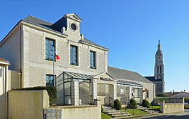 The town hall in Saint-Lumine-de-Coutais