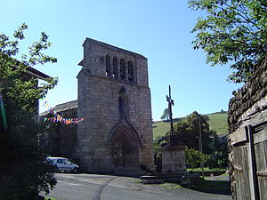 Saint-Martin-de-Fugères - The church in Saint-Martin-de-Fugères