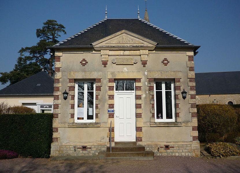 Mairie de Saint-Vaast-sur-Seulles (Calvados)