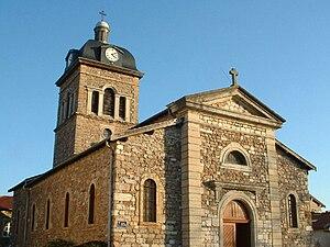 Saint-Genis-les-Ollières - The church in Saint-Genis-les-Ollières