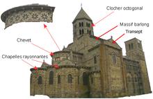 La « pyramide auvergnate » de saint-nectaire