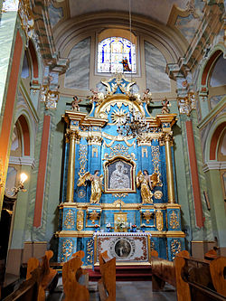 Saint Anne church in Lubartów - Interior - 10.jpg