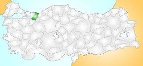 Sakarya Turkey Provinces locator.jpg