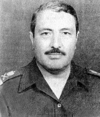 Salah Aboud Mahmoud - Salah during his tenure as Commander of the 3rd Corps in the late 1980s.