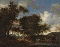 Salomon van Ruysdael - Landscape with Travellers Watering their Horses - KMS1810 - Statens Museum for Kunst.jpg