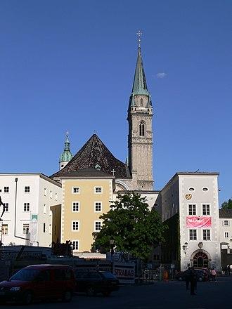 Franciscan Church, Salzburg - Image: Salzburg Rupertinum und Franziskanerkirche