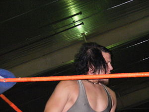Sami Callihan - Sami Callihan during a 2CW show in September 2011