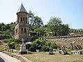 Samtavro bell-tower & churchyard.jpg