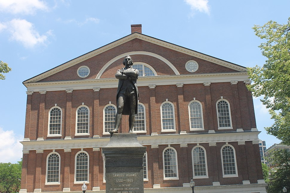 Samuel Adams at Faneuil Hall, Boston IMG 2845