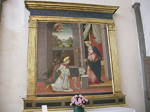 Michele Ciampanti - Annunciation at San Giovannino dei Cavalieri, Florence