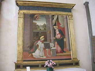Michele Ciampanti - Annunciation at San Giovannino dei Cavalieri, Florence