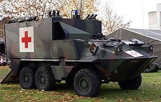 Mowag Piranha - MOWAG Piranha IB 6×6 Swiss Army