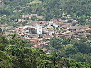 San Sebastián del Oeste is nestled in a narrow mountain valley
