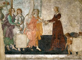 Venus and the Three Graces Presenting Gifts to Giovanna degli Albizzi