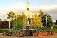 Sandusky, Erie County, Ohio Courthouse and fountain.jpg