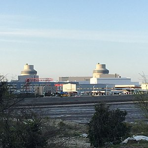 Nuclear power in China - Sanmen Nuclear Power Plant, located in Zhejiang China