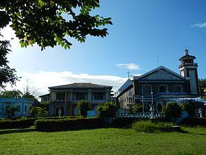 San Simon, Pampanga - 1771 Virgen del Pilar Parish Church and convent
